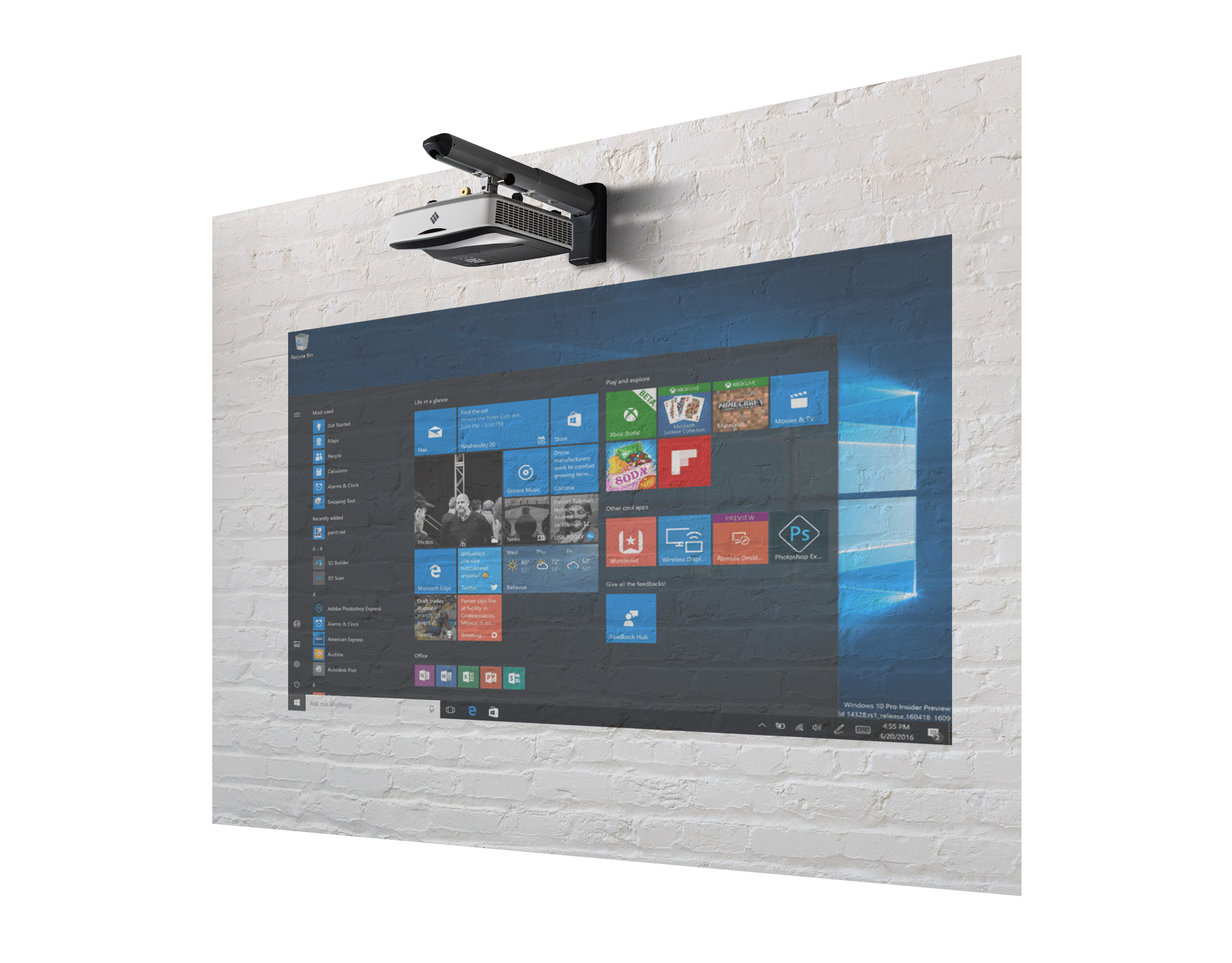I3projector Interactive Wall