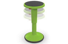 Grow Stool Up Ht Adjust Action Green Thumbnail